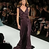 Gisele Bündchen on the Marc Jacobs Runway at New York Fashion Week Fall 2004