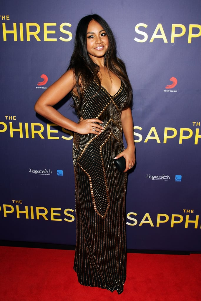 Jessica Mauboy at the 2012 Sapphires Sydney Premiere