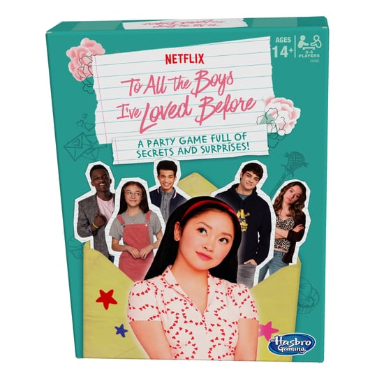 Hasbro's New To All the Boys I've Loved Before Party Game