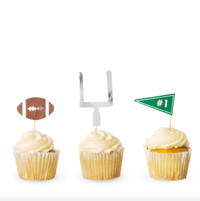 Cakewalk Disposable Tailgate Cake Toppers