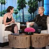 Kristen Stewart on The Ellen DeGeneres Show November 2016