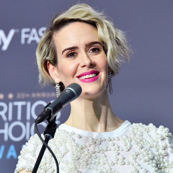 Sarah Paulson Quotes About Marcia Clark at Critics' Choice