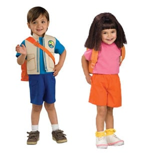 Cartoon Character Halloween Costumes