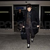 Pictures of Orlando Bloom at LAX