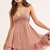 Free People Adella Dress in Rose