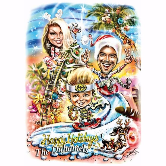 Fergie and Josh Duhamel Christmas Card 2016