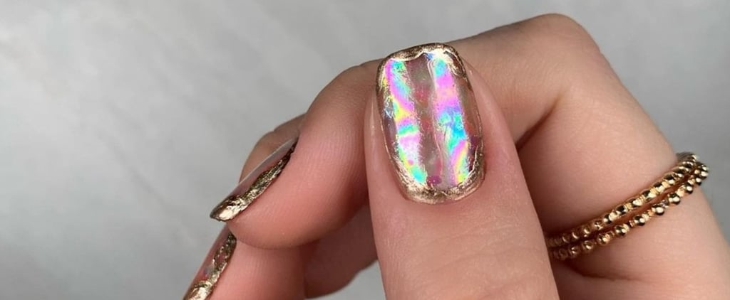 Rainbow Opal Manicure Trend Inspiration