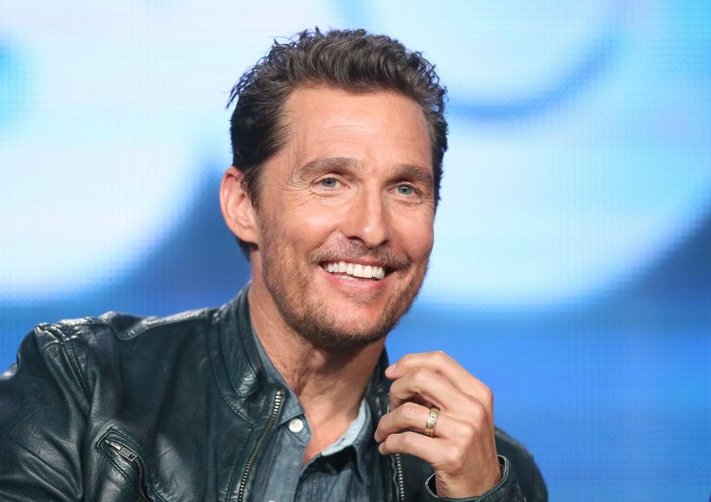 Celebrities Doing Impressions of Matthew McConaughey