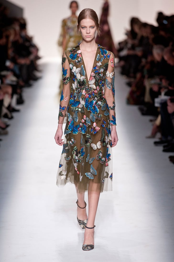 2014 Fall Winter 2015 Fashion Trends For Teensteens: Valentino Fall 2014 Runway Show