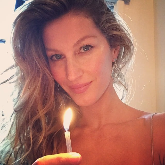 """Happy 2015! Across the globe, stars are celebrating the start of the year with their friends and family. Gisele wished fans a happy 2015 and Lena Dunham rocked a sweatshirt that says """"kale"""" to wish fans a """"very Beyoncé new year. Meanwhile, Selena Gomez linked up with Gigi Hadid, Beyoncé shared a video of her big year, and Ed Sheeran snapped a picture of his New Year's Eve decorations, which included a One Direction tablecloth and some cat plates that would definitely win the approval of his BFF Taylor Swift. See how all the stars are ringing in 2015!"""