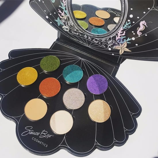 SauceBox مجموعة ظلال عيون Mermaid Life Palette صدفة
