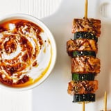Ramadan Recipes | Za'atar Salmon and Courgette Skewers