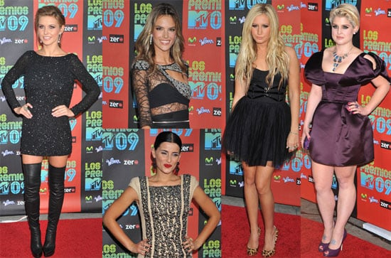 Photos From the 2009 MTV Los Premios Award Show in LA 2009-10-16 14:30:09