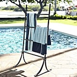 Bronze Pool Storage Leaning Towel Bar