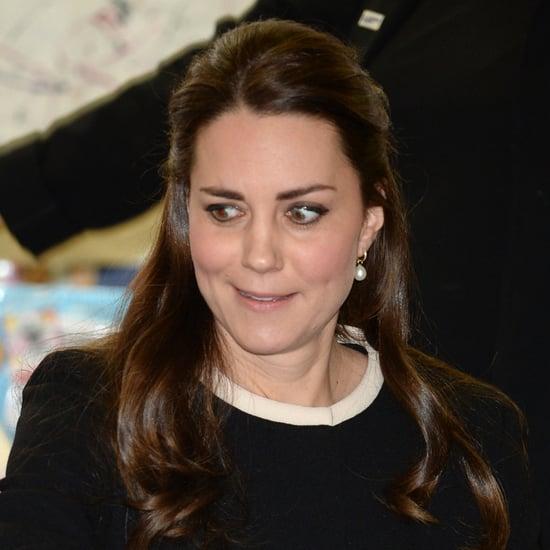 Kate Middleton's Side Eye GIF