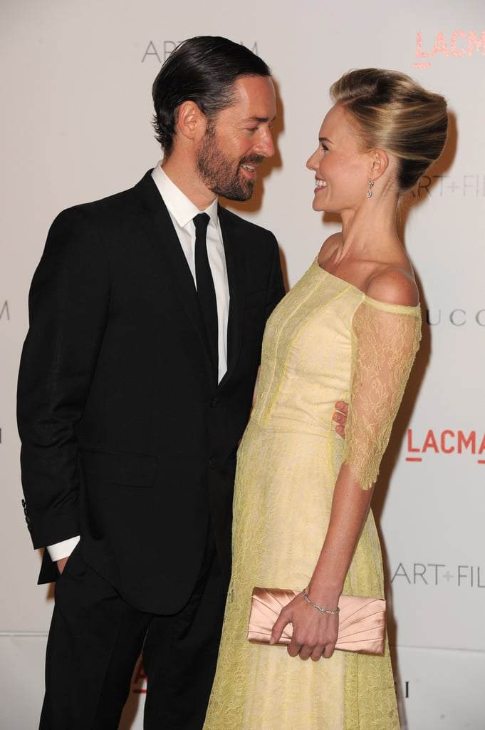Kate Bosworth and boyfriend Michael Polish looked so in love.