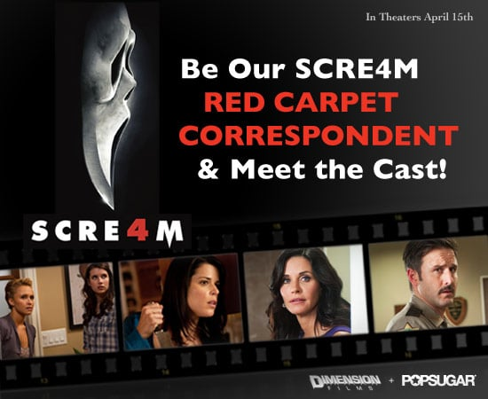 Contest to Win a Trip to Scream 4 Premiere