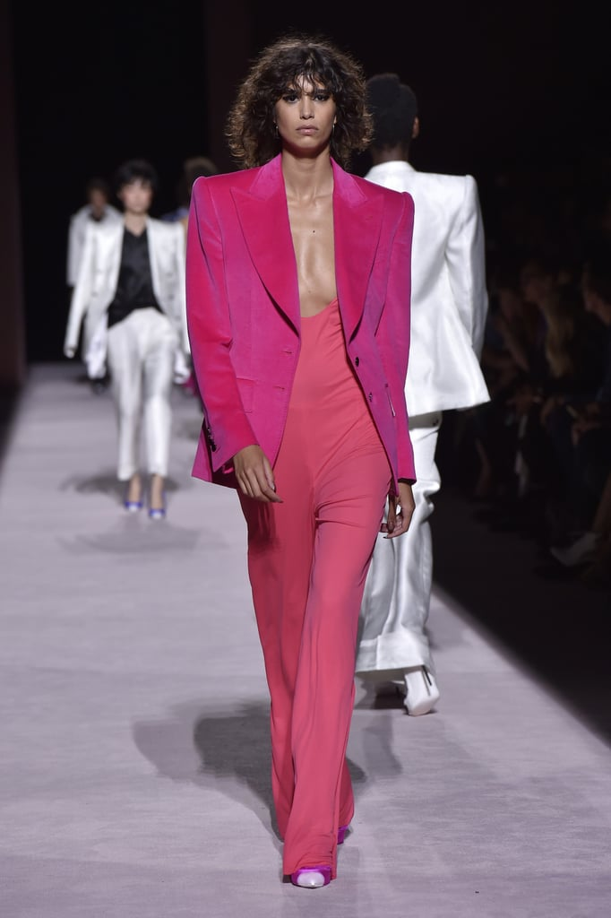 Pink at Tom Ford Spring 2018