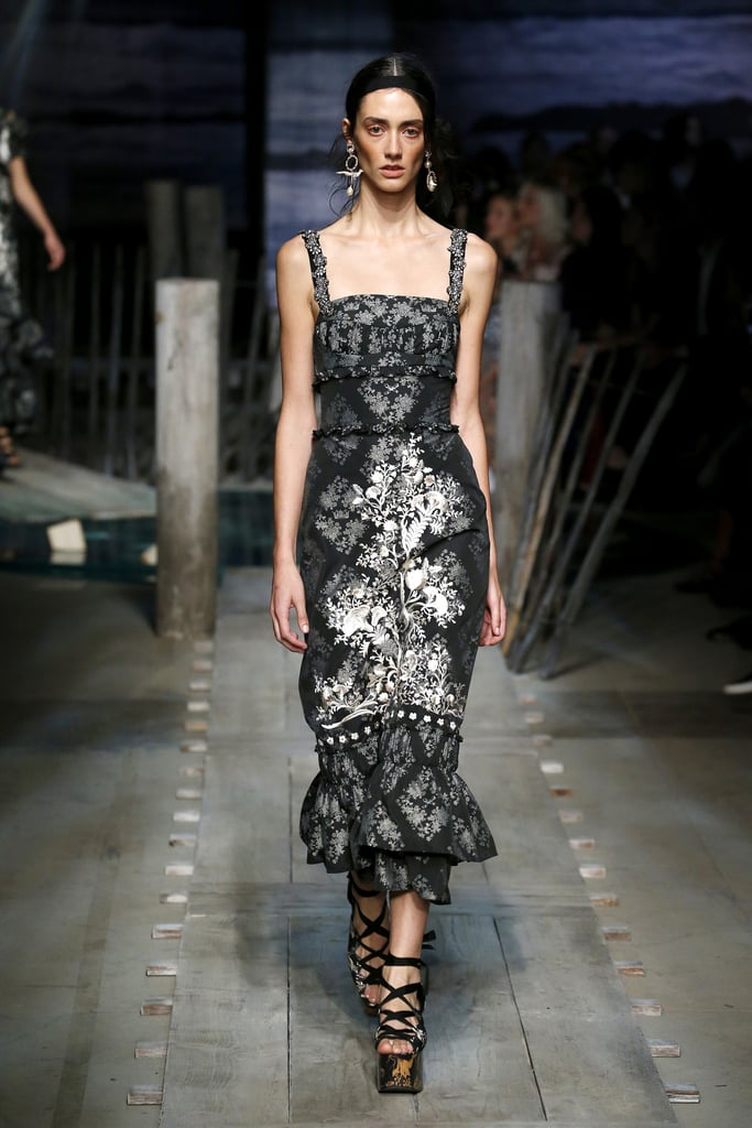 The Erdem Spring 2017 collection was revealed during ...
