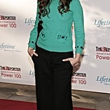 2005: cropped pants and flats on the red carpet – what would present-day Ginnifer say?