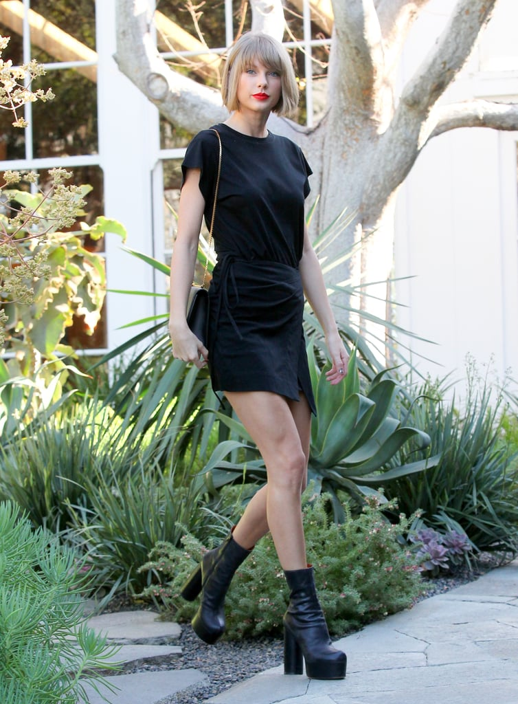 Taylor Swift Is Definitely Out of the Woods During Her LA Shopping Trip