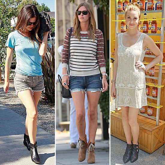 Celebrities Wearing Booties Get The Look Popsugar Fashion