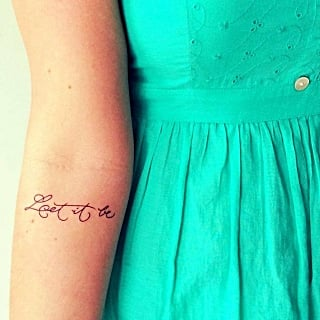 Best Small Quote Tattoos