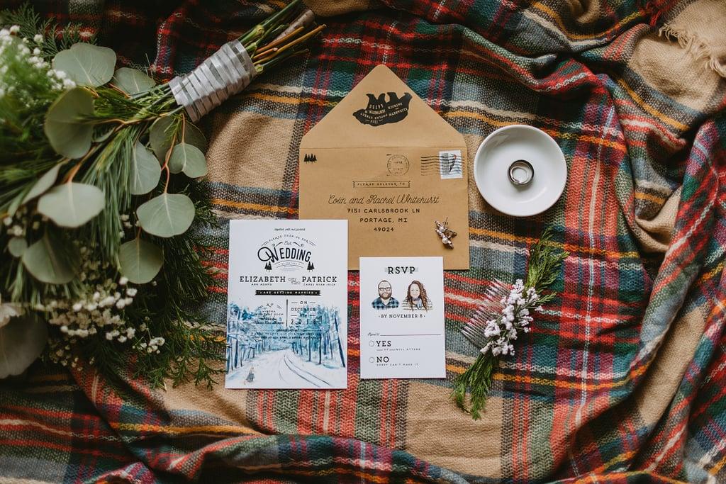 Mountain-Themed Invitations