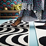 These groovy woven rugs are some of our favorite pieces ($70).