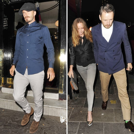 David Beckham London Pictures With Stella McCartney