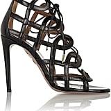 Olivia Palermo x Aquazzura Cutout Sandals