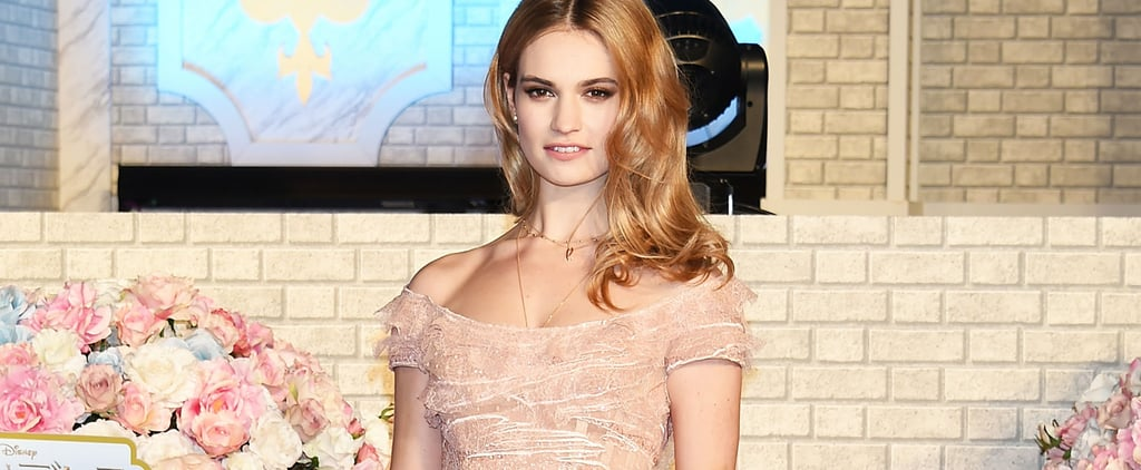 Lily James From Cinderella's Best Red Carpet Photos