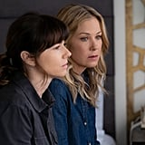 Jen's Chambray Shirt on Dead to Me