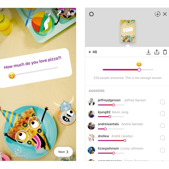 كيف تستخدم ميزة Emoji Slider في قصص الإنستغرام