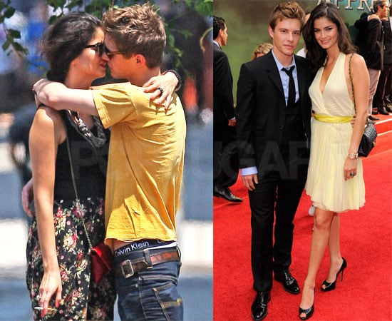Pictures of Xavier Samuel and Girlfriend Sheri