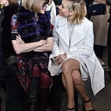 With Anna Wintour