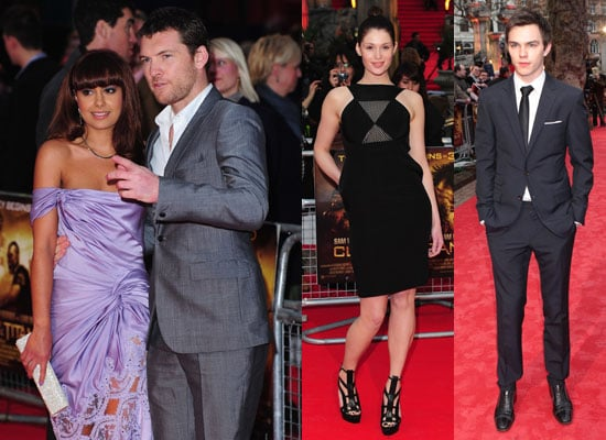 Photos of Sam Worthington, Gemma Aterton and Nicholas Hoult from the Clash of the Titans London Premiere 2010-03-29 19:42:07