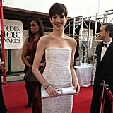 Anne Hathaway Dons Chanel