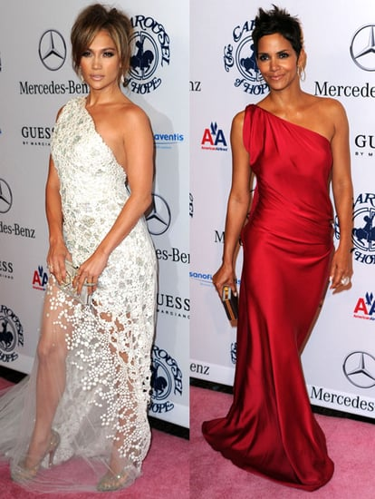 Pictures of Halle Berry and Olivier Martinez Joining Jennifer Lopez, Marc Anthony, and Other Celebs at the Carousel of Hope Ball