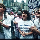 Pro-Choice Rally in US, 1991