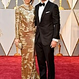 Justin Timberlake and Jessica Biel at the 2017 Oscars