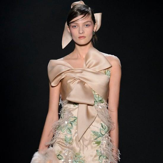 Fashion Week 2017 Wedding Dress Inspiration