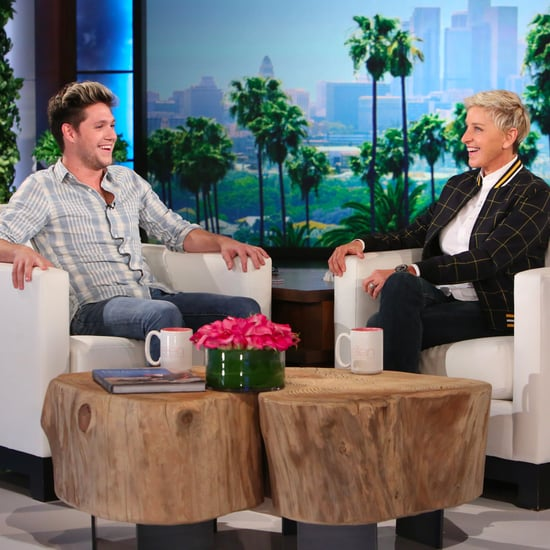 Niall Horan on The Ellen DeGeneres Show October 2016