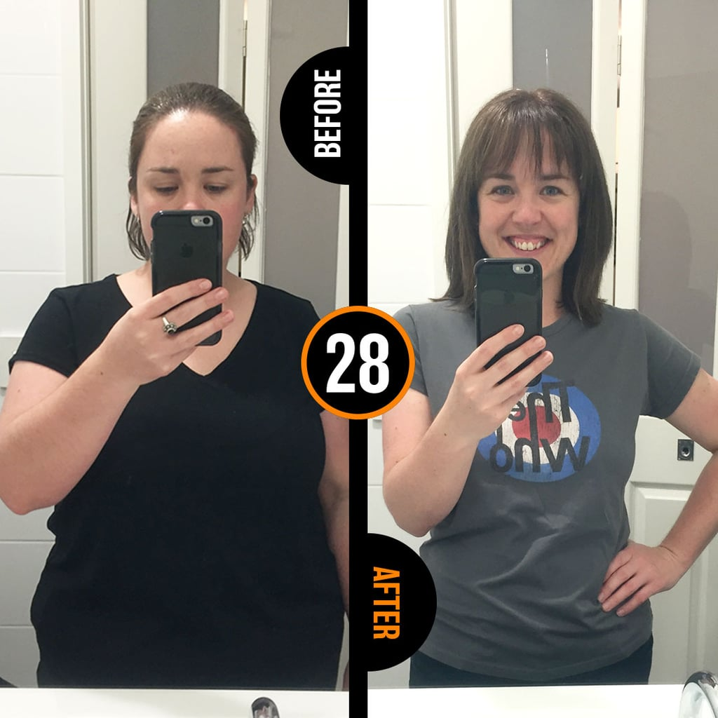 Jo has lost 34 kilograms since she started the program in June 2016. This takes her from a size 18 to size 10-12.