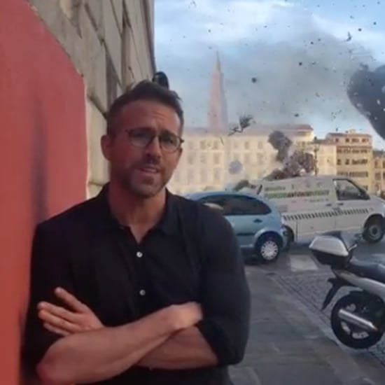 Ryan Reynolds on Set of 6 Underground Instagram Video 2018