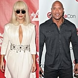 "Lady Gaga and Dwayne ""The Rock"" Johnson"