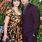 Ginnifer Goodwin and Josh Dallas at the 2020 Gold Meets Golden Party in LA