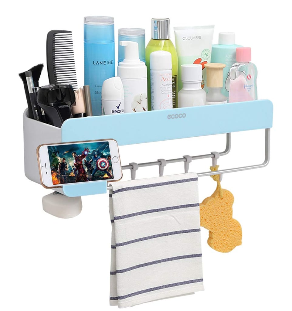 Adhesive Bathroom Shelf Storage Organiser