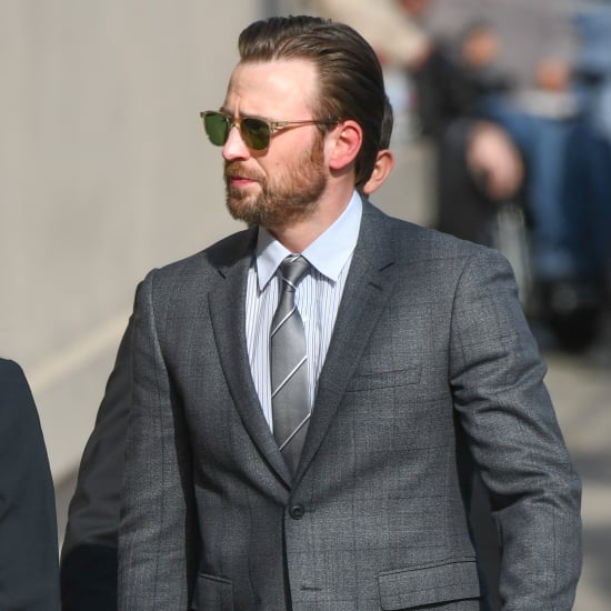 Chris Evans Arriving at Jimmy Kimmel Live April 2017