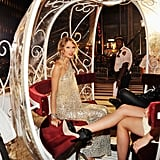 In 2009, Taylor pulled a page out of Cinderella's playbook and arrived in a horse-drawn carriage (no word if she brought a fairy godmother).